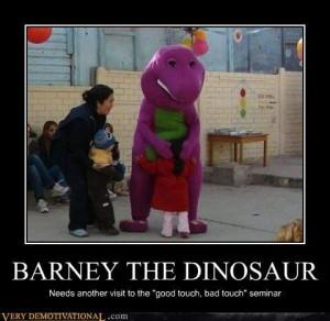 BARNEY THE DINOSAUR - #Cheezburger