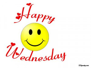 happy wednesday comments for facebook and myspace