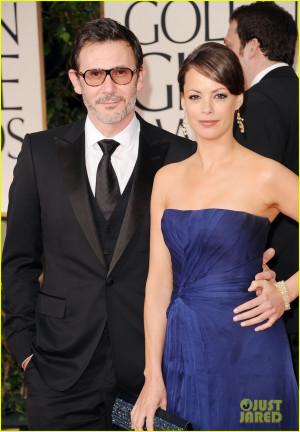 Berenice Bejo & Jean Dujardin - Golden Globes 2012 Red Carpet