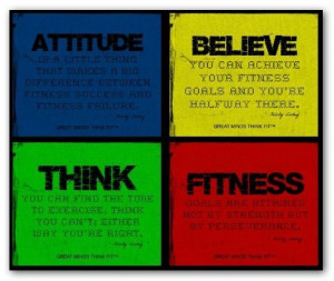 Physical Fitness Motivational Posters | Fitness Inspiration with ...