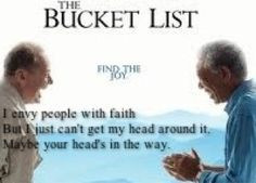 Quote from the bucket list