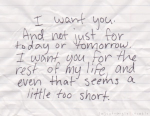 Want You.... - quotes Photo