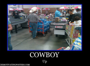 Cowboy Up Beer Bud Light Costco