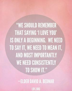 Elder David A. Bednar David A Bednar Quotes, Quotes Bednar, David A ...