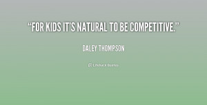 it 39 s natural to bepetitive Daley Thompson at Lifehack Quotes