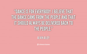 Alvin Ailey Dance Quotes