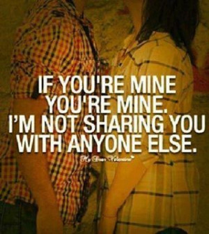 what's mine is MINE