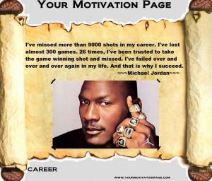 Failure leads to success.