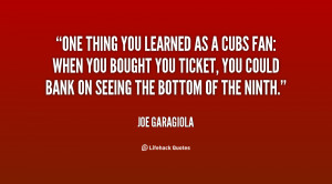 Quotes by Joe Garagiola
