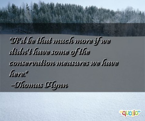 Conservation Quotes