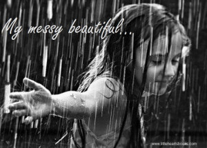 quote embracing the rain small