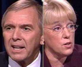 Washington Senate Debates: Patty Murray (D) vs. George Nethercutt (R ...