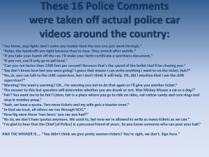 16 Police Comments - Actual funny quotes from Police by MissPowerPoint
