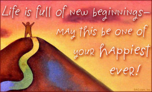 ... to this year and I'm looking forward to Spring and new beginnings