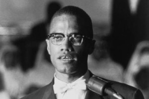 American political activist and radical civil rights leader Malcolm X ...