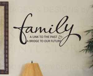 personalised decorative family vinyl art wall stickers quotes decal