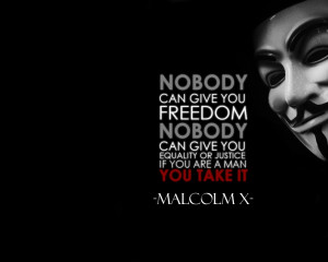 anonymous text quotes typography malcolm x black background 1920x1200 ...