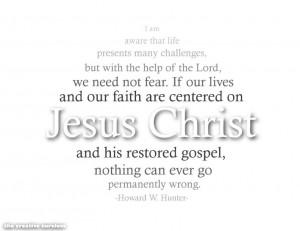 Centered on Jesus Christ