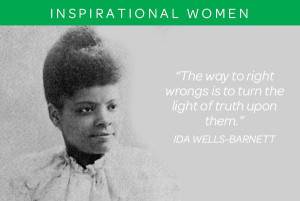 Ida Bell Wells-Barnett was an African-American journalist, newspaper ...