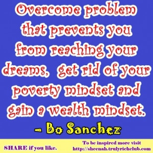 Overcome problems that prevents you from reaching your dreams, get rid ...