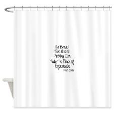 Motivational Quotes Shower Curtains