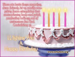 Forward bible orkut scraps birthdayCards
