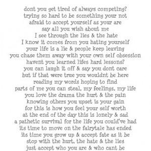 Pathetic quotes