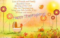 Thanksgiving Blessing Cards, Funny Thanksgiving Blessings