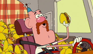 Uncle Grandpa was voiced by Peter Browngardt
