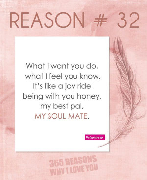 Reasons why I love you # 32