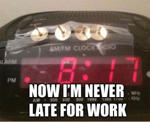 Never Late For Work - Image