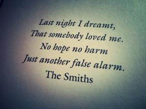 The smiths lyrics