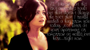 tagged as pretty little liars aria montgomery lucy hale quote