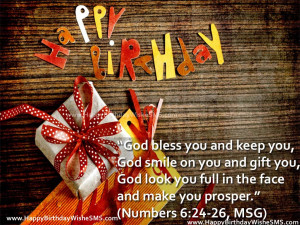 ... Birthday Bible Verses, Birthday Messages from Bible Pictures Quotes