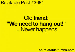Quotes About Missing Old Friends