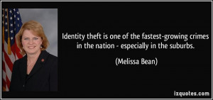 Identity theft is one of the fastest-growing crimes in the nation ...