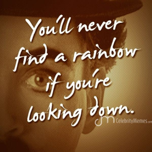 Baby look up at the sky tonight! #charlieChaplin #quotes # ...