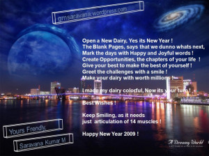 Awesome New Years Quotes: New Years Quote And Picture Of Modern City ...