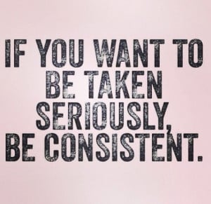 Be consistent. It's easier than trying to remember your lies, because ...