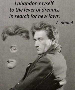 Antonin Artaud playwright poet actor theatre director artist