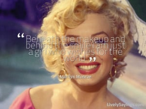 Marilyn Monroe Beauty Quotes Form Long Hair Names Medium Length For ...