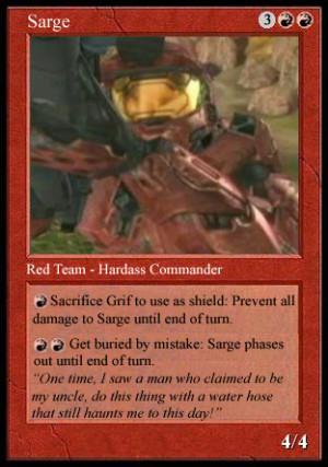 Sarge Rvb