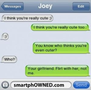 Flirty Text Messages Send Her