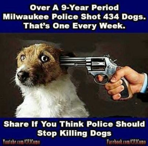 Police...STOP killing our family