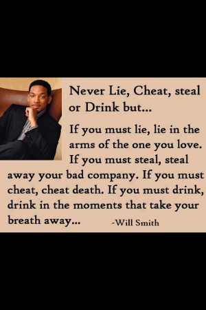 Wise words from Will Smith
