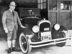 walter p chrysler the advanced new chrysler six is unveiled january