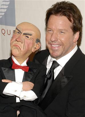 Ventriloquist Jeff Dunham's act with Walter is one of his best ...