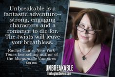 See what Rachel Caine, author of the #Morganville Vampires series, has ...
