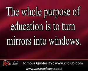 Famous educational quotes