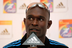 David Rudisha David Rudisha of Kenya speaks during a press conference